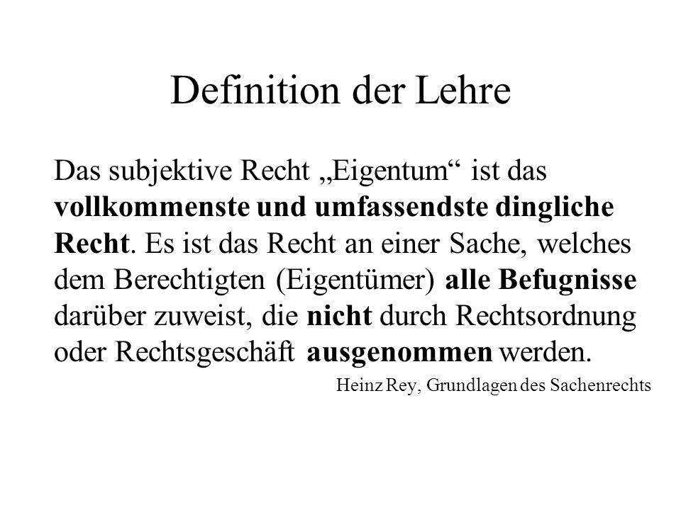 Definition der Lehre