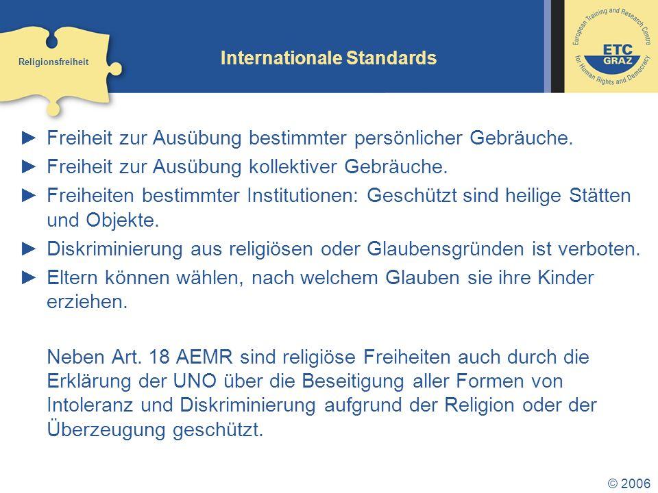 Internationale Standards