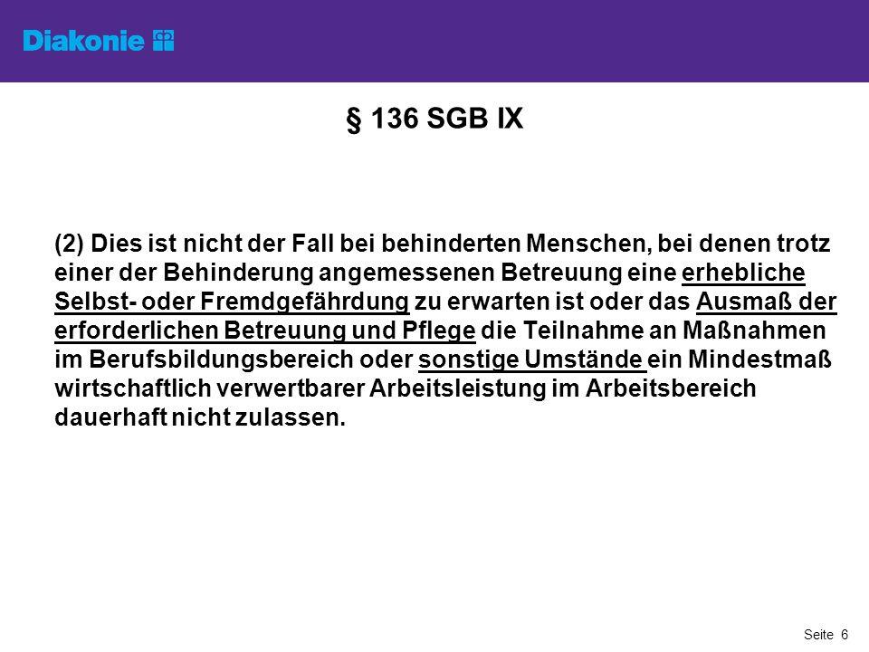 § 136 SGB IX