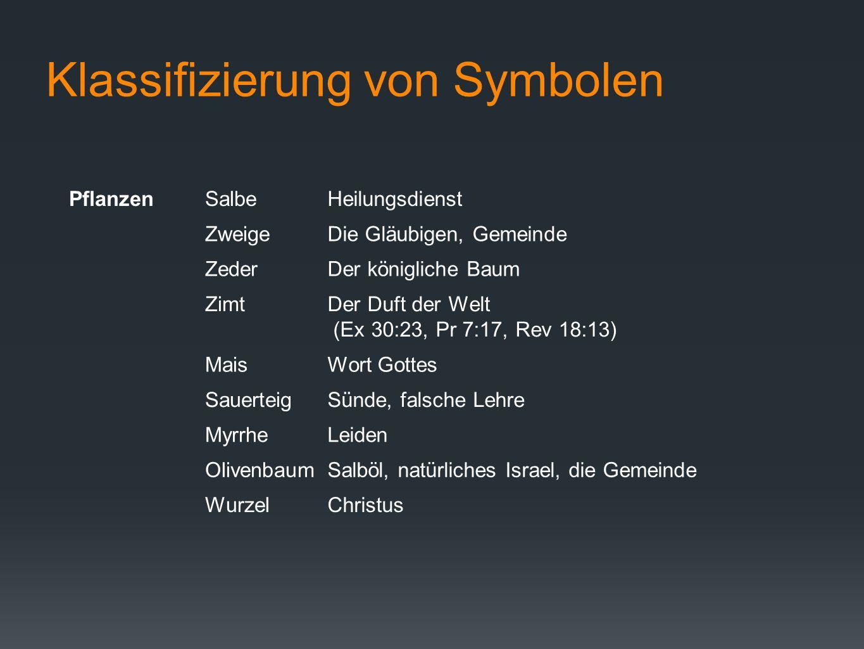 Klassifizierung von Symbolen