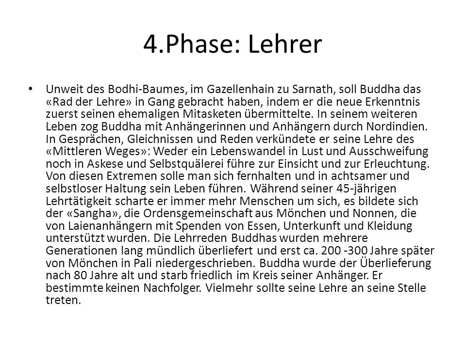 4.Phase: Lehrer