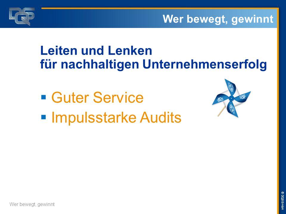 Guter Service Impulsstarke Audits
