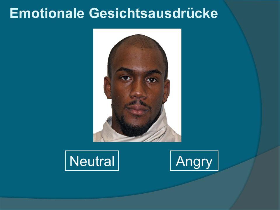 Emotionale Gesichtsausdrücke