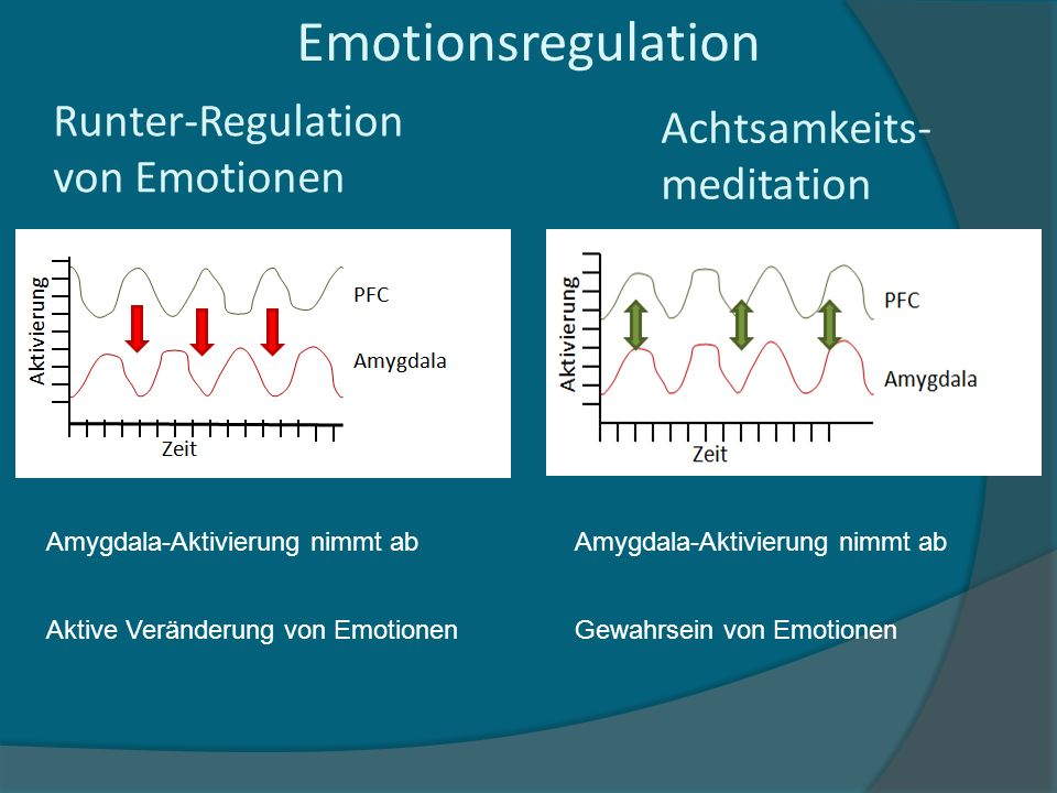 Emotionsregulation Achtsamkeits- meditation