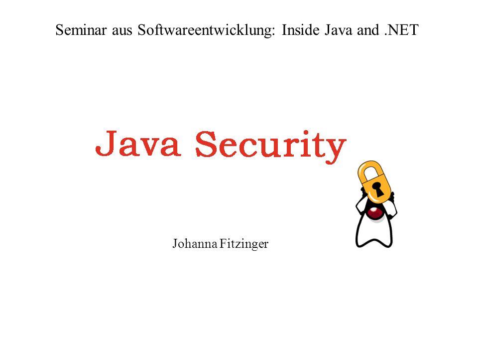 Seminar aus Softwareentwicklung: Inside Java and .NET