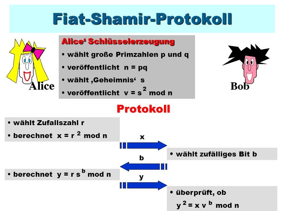 Fiat-Shamir-Protokoll