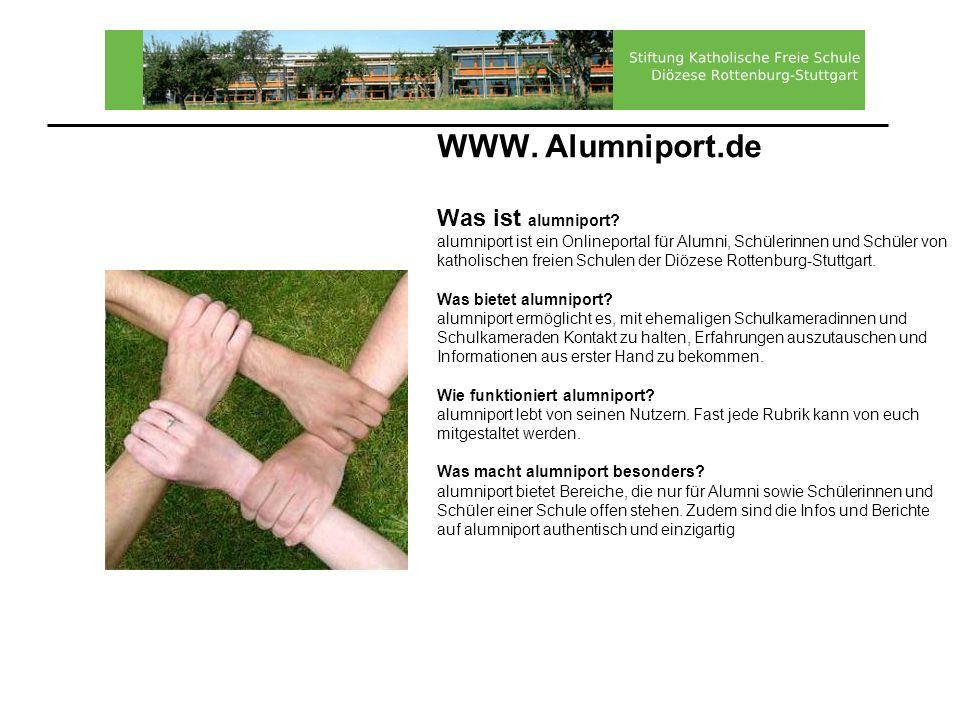WWW. Alumniport. de Was ist alumniport