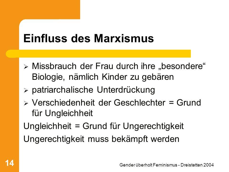 Einfluss des Marxismus