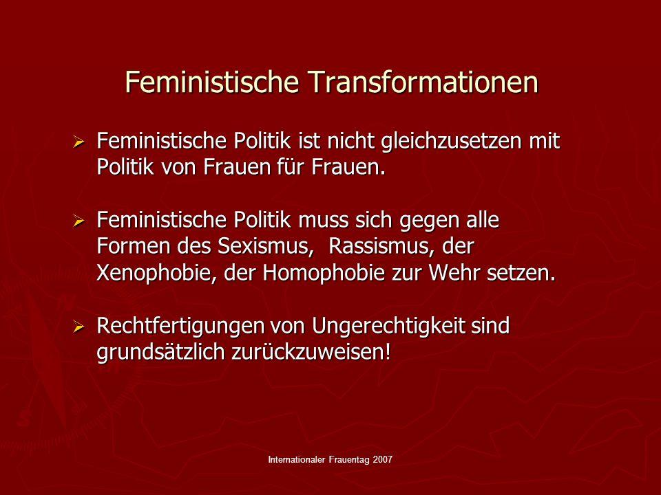 Feministische Transformationen