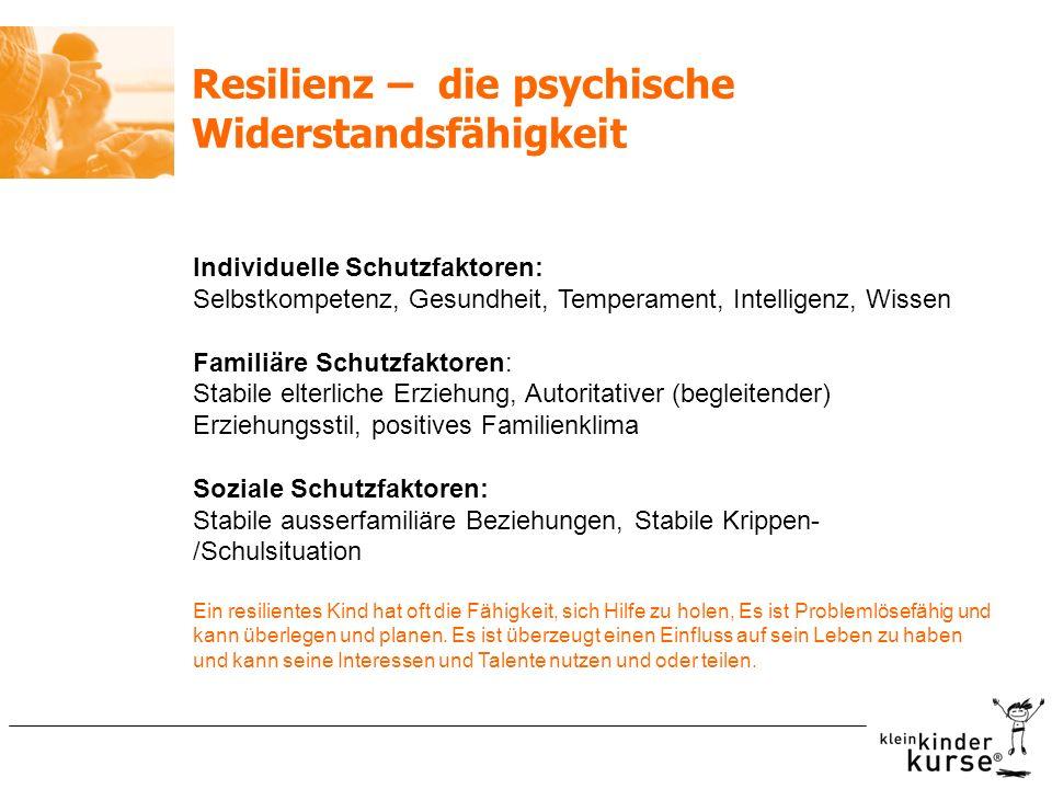 Resilienz – die psychische Widerstandsfähigkeit