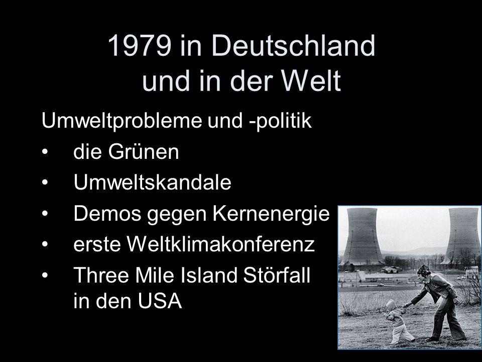 1979 in Deutschland und in der Welt