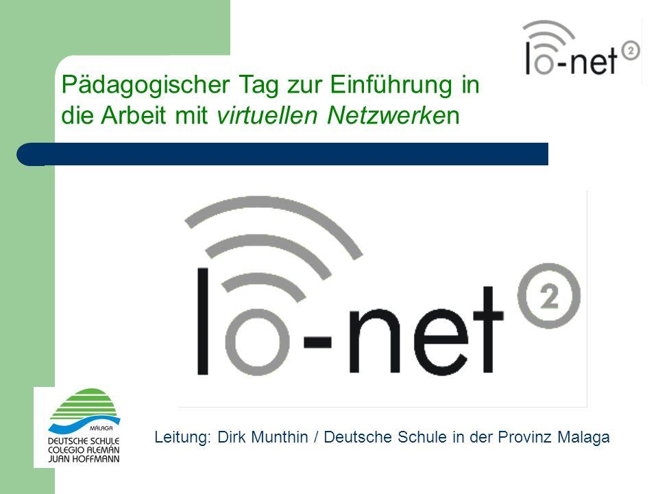 Pädagogischer Tag zur Einführung in die Arbeit mit virtuellen Netzwerken