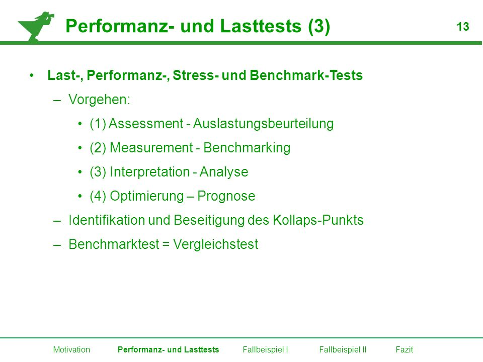 Performanz- und Lasttests (3)