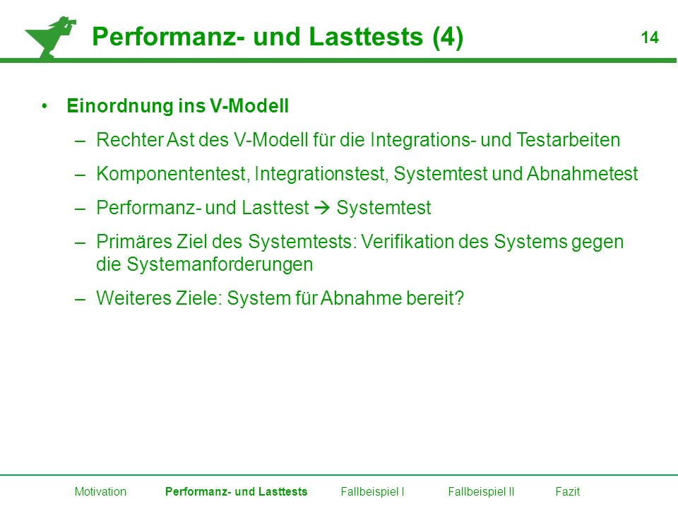 Performanz- und Lasttests (4)