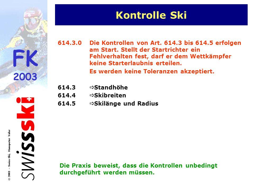 Kontrolle Ski