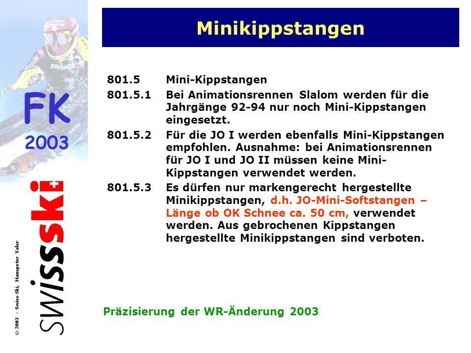 Minikippstangen 801.5 Mini-Kippstangen