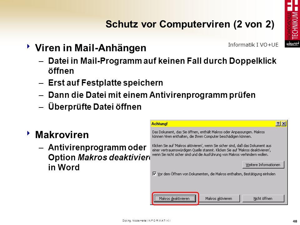 Schutz vor Computerviren (2 von 2)