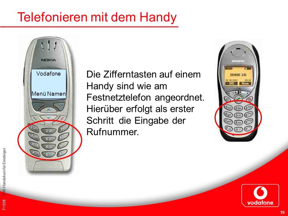 Telefonieren mit dem Handy
