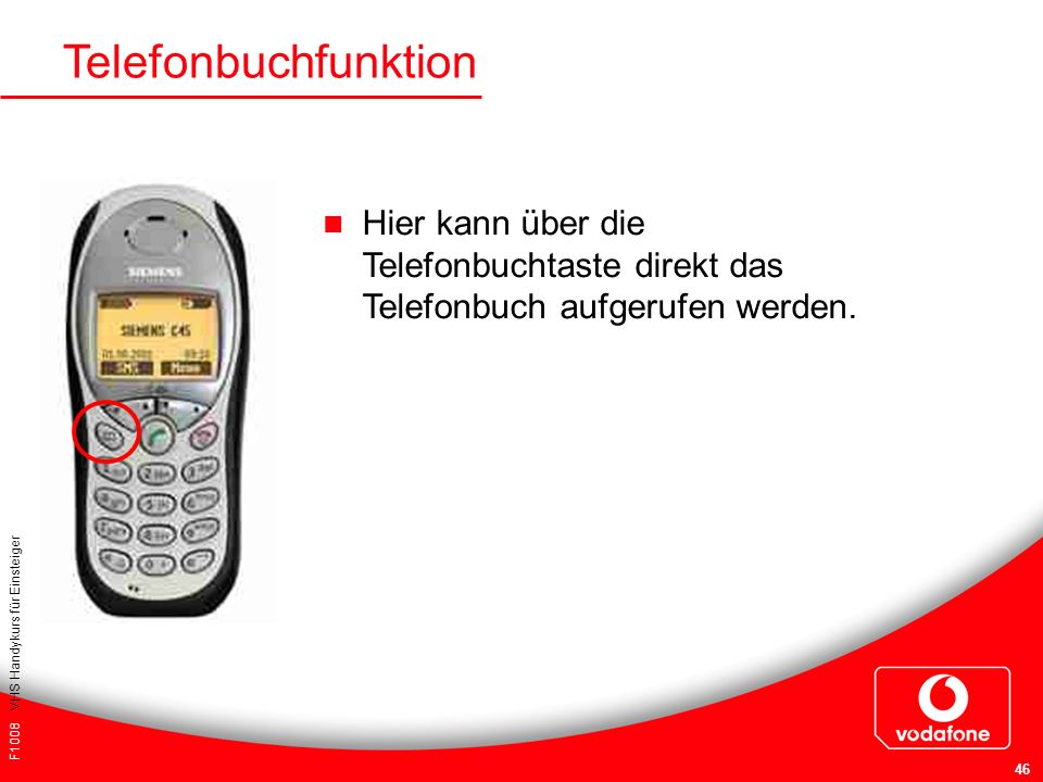 Telefonbuchfunktion Hier kann über die Telefonbuchtaste direkt das Telefonbuch aufgerufen werden. Für Ihre Notizen:
