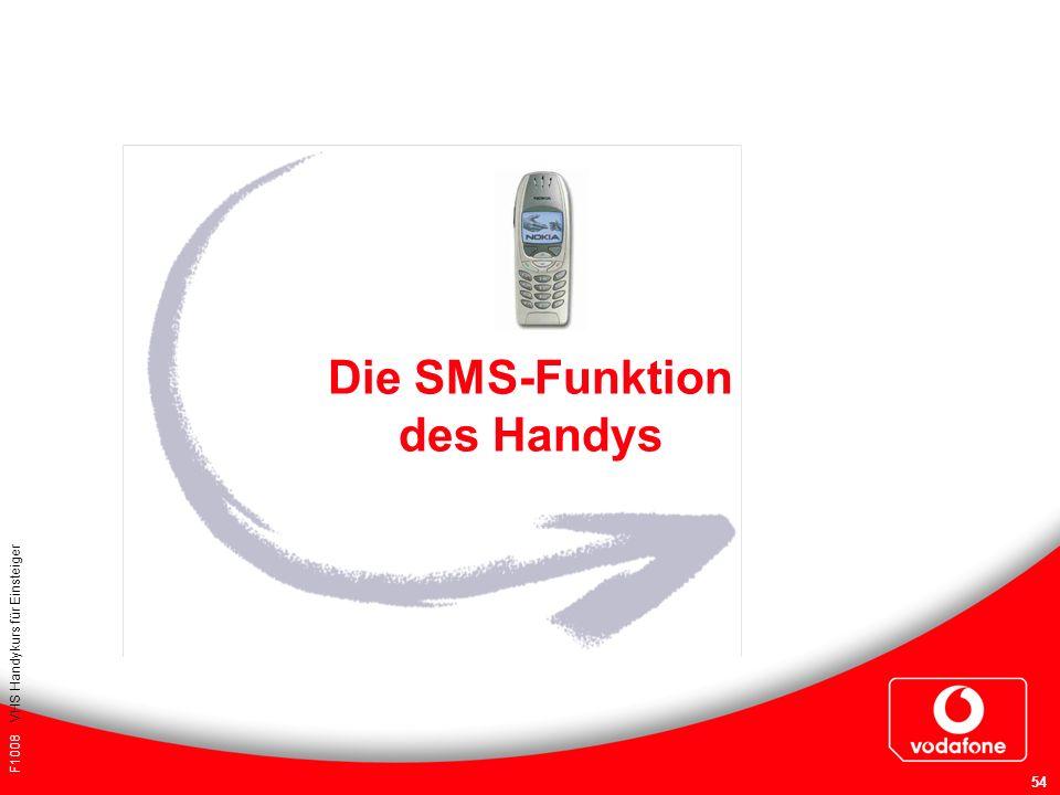 Die SMS-Funktion des Handys