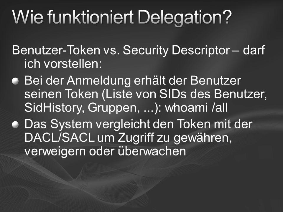 Wie funktioniert Delegation