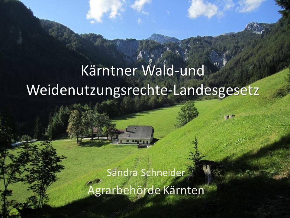 Kärntner Wald-und Weidenutzungsrechte-Landesgesetz