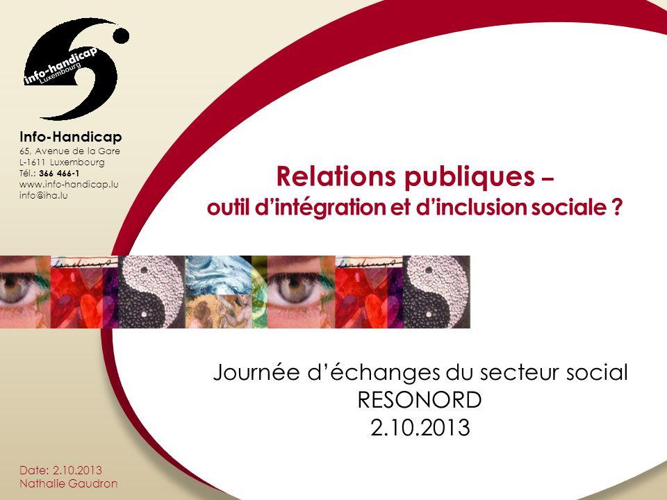 outil d'intégration et d'inclusion sociale