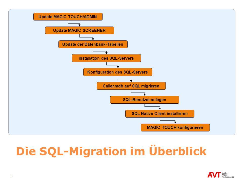 Die SQL-Migration im Überblick