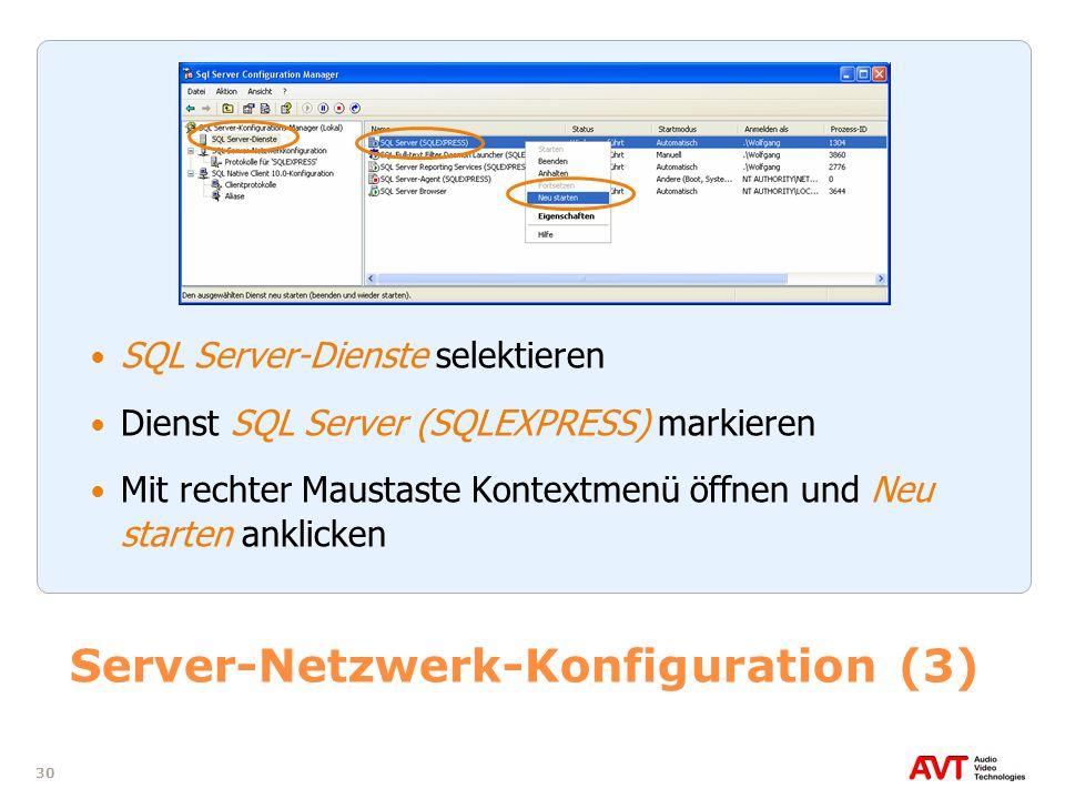 Server-Netzwerk-Konfiguration (3)