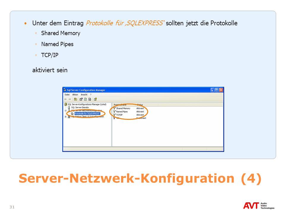 Server-Netzwerk-Konfiguration (4)