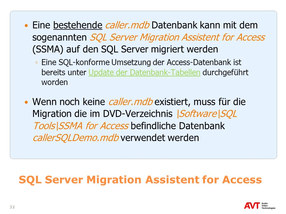 SQL Server Migration Assistent for Access