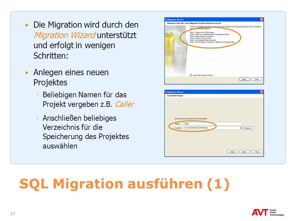 SQL Migration ausführen (1)