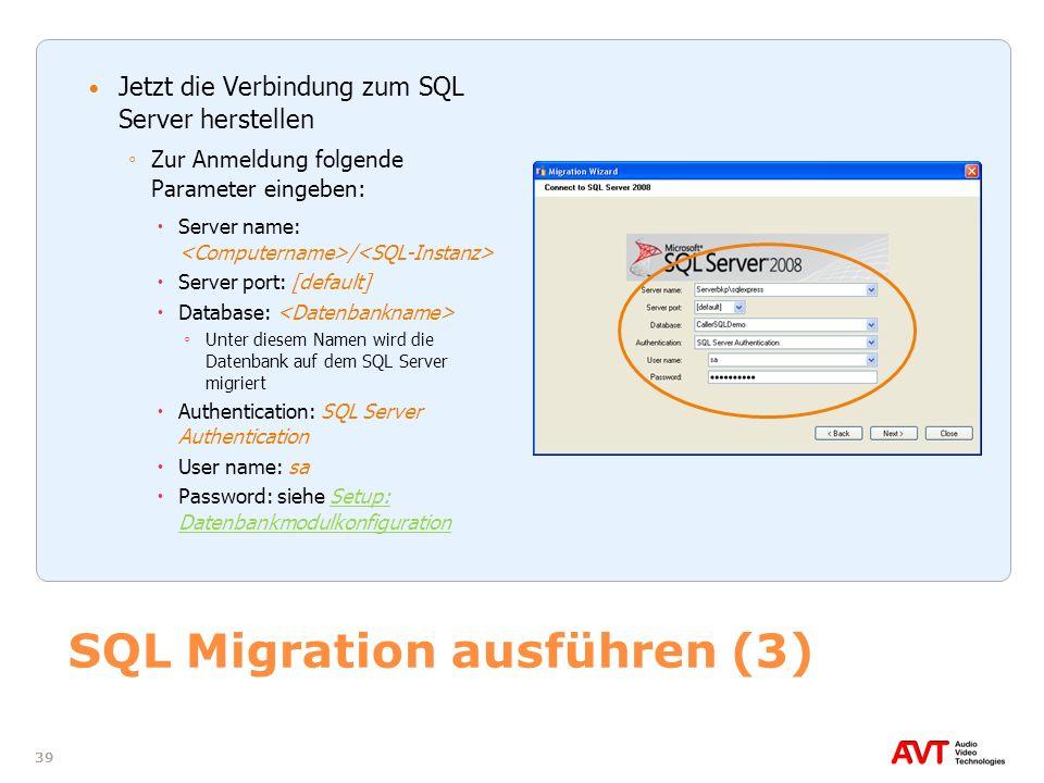 SQL Migration ausführen (3)