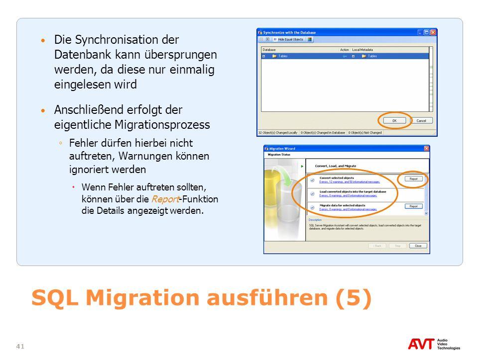 SQL Migration ausführen (5)