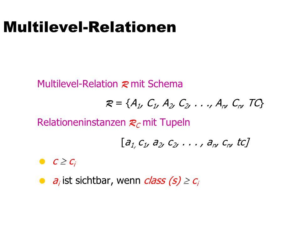 Multilevel-Relationen