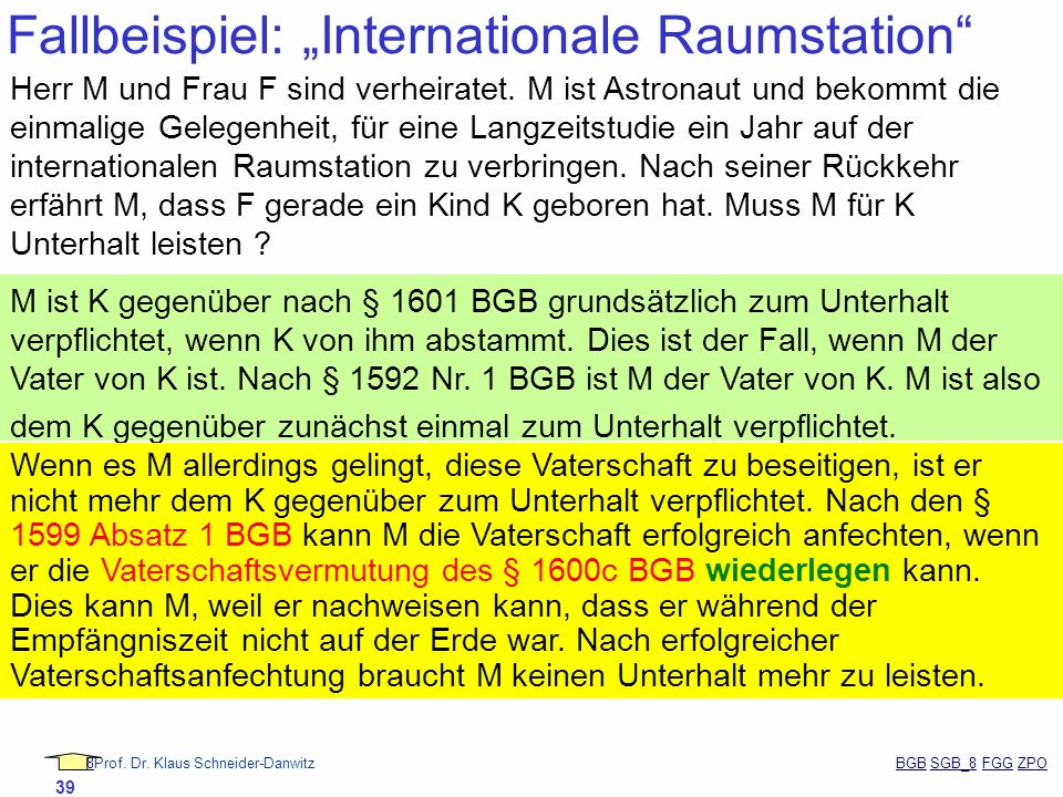 "Fallbeispiel: ""Internationale Raumstation"