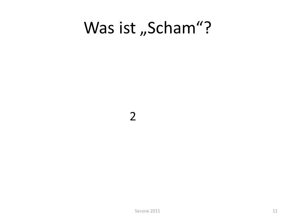 """Was ist """"Scham 2 Savona 2011"""