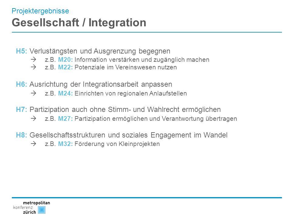 Gesellschaft / Integration