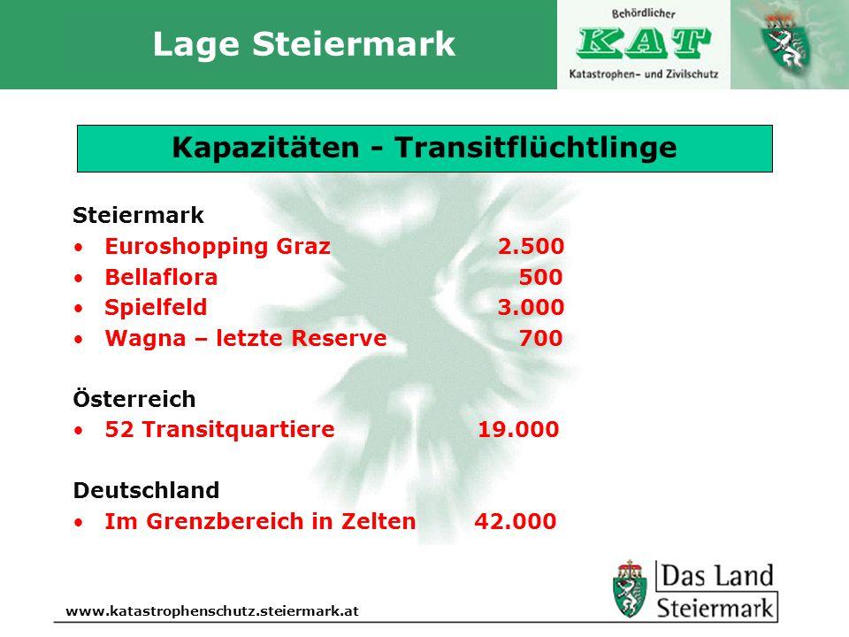 Lage Steiermark Aktuelle Lage 15. Oktober 2015, 17.30 Uhr
