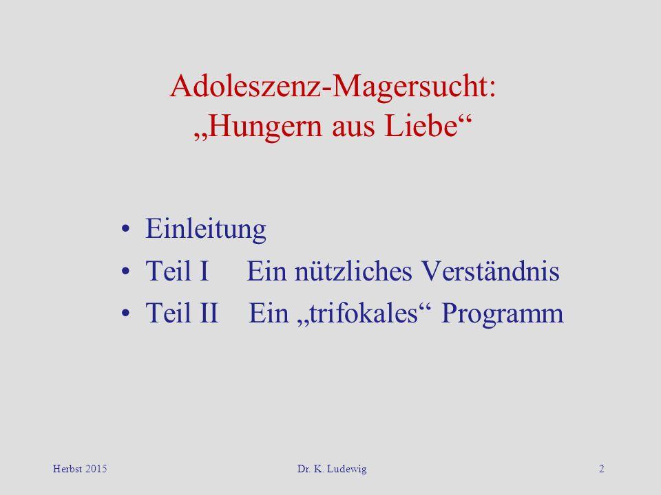"""Adoleszenz-Magersucht: """"Hungern aus Liebe"""
