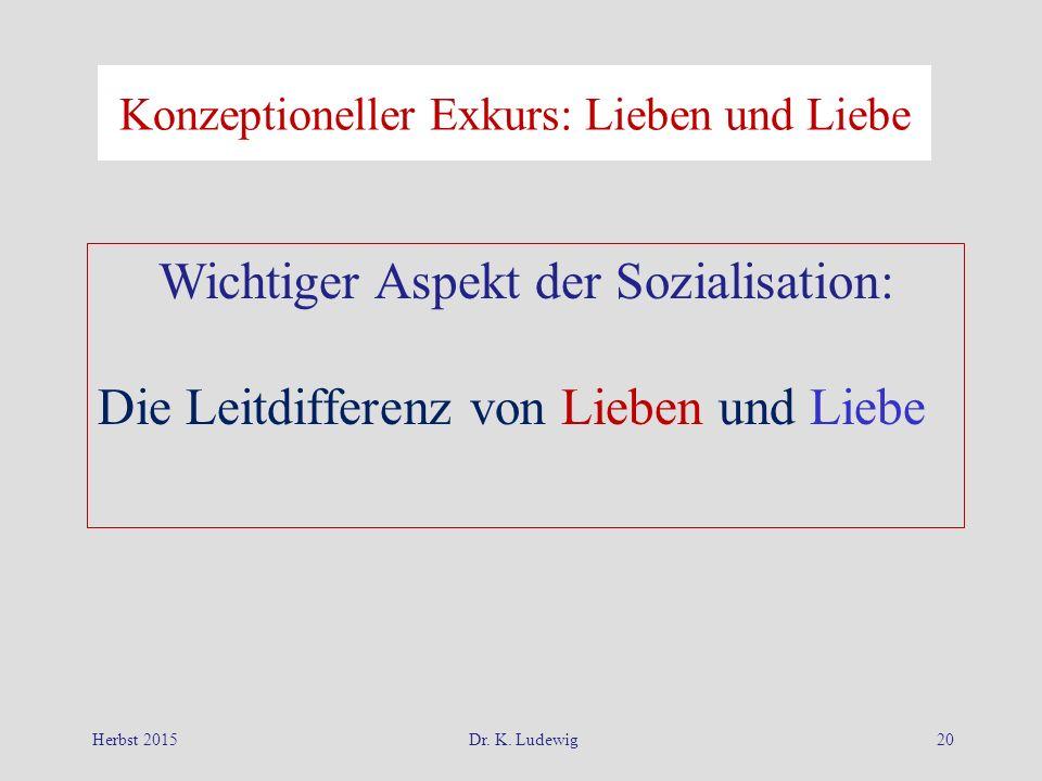 Wichtiger Aspekt der Sozialisation: