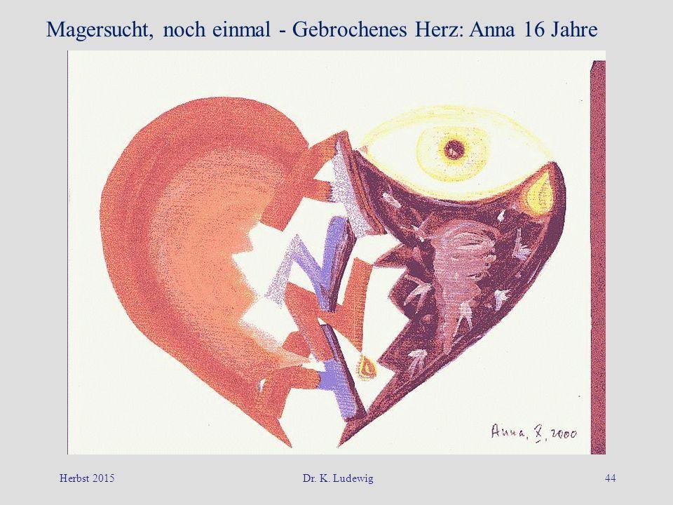 Magersucht, noch einmal - Gebrochenes Herz: Anna 16 Jahre