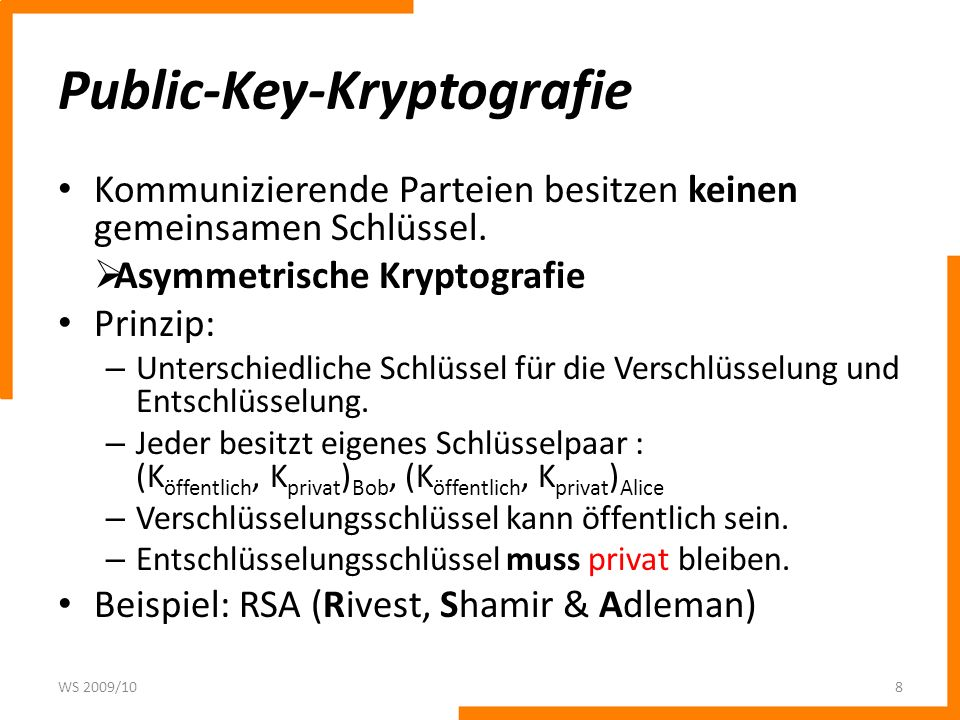 Public-Key-Kryptografie