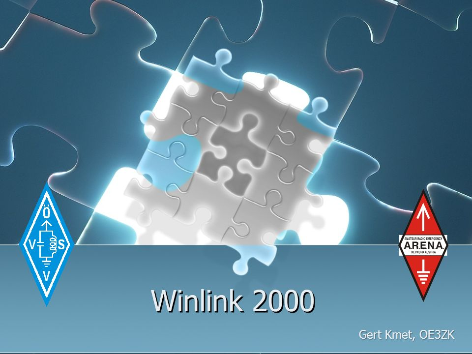Winlink 2000 Gert Kmet, OE3ZK