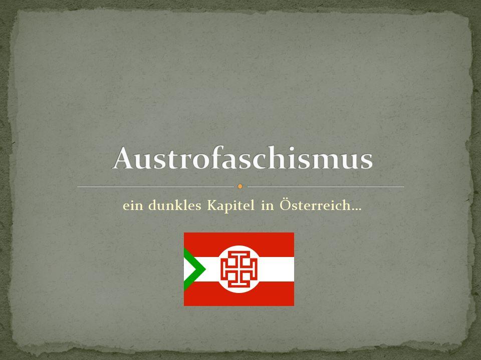 ein dunkles Kapitel in Österreich…