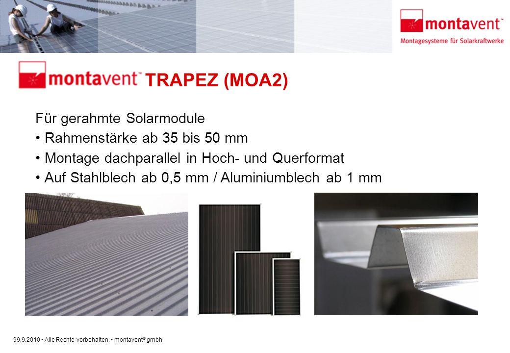 montavent TRAPEZ (MOA2)
