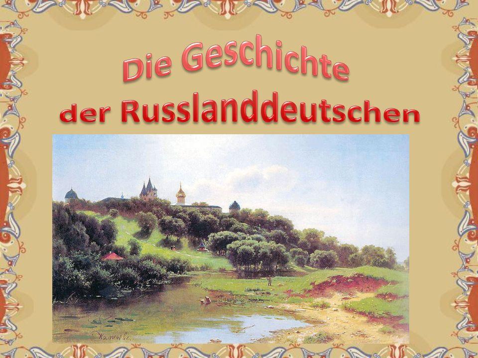 der Russlanddeutschen