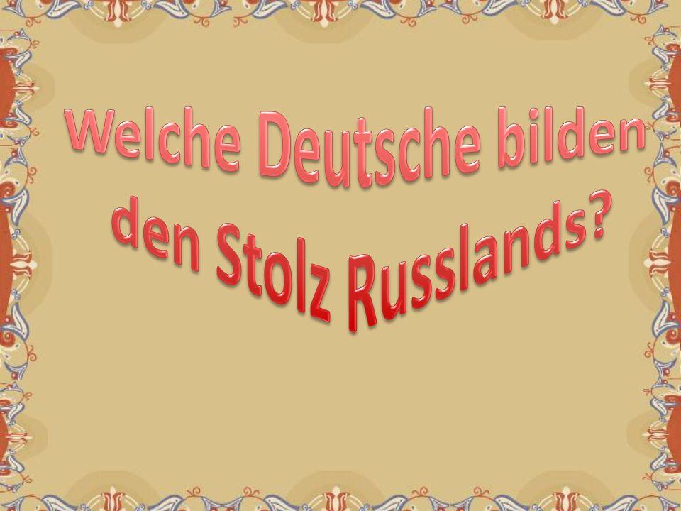 Welche Deutsche bilden