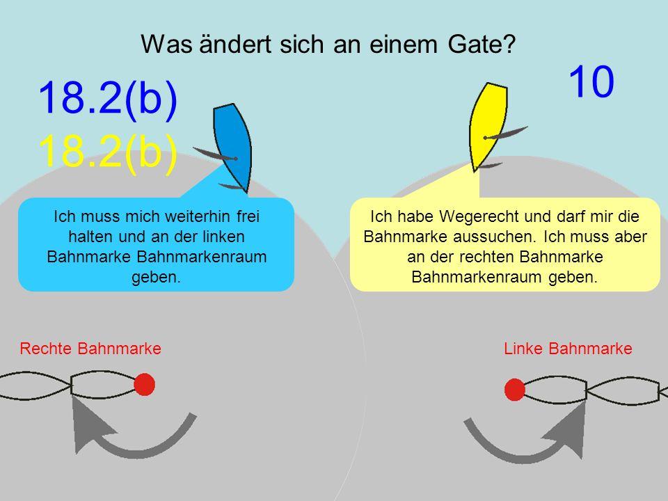 Was ändert sich an einem Gate
