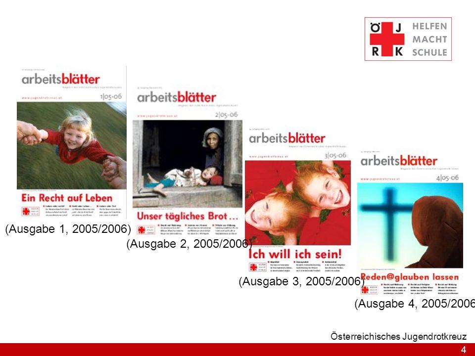 (Ausgabe 1, 2005/2006) (Ausgabe 2, 2005/2006) (Ausgabe 3, 2005/2006)